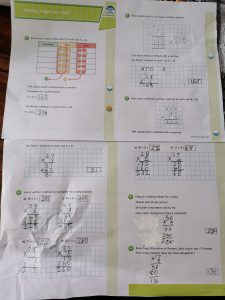 Zuzanna's Maths work